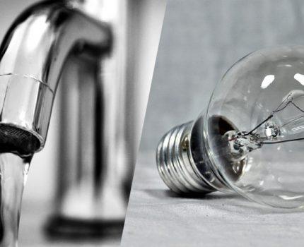 Spis liczników energii elektrycznej oraz wody 2019